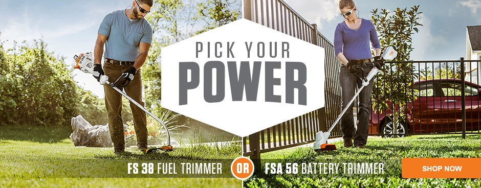 Pick Your Power - Fuel or Battery